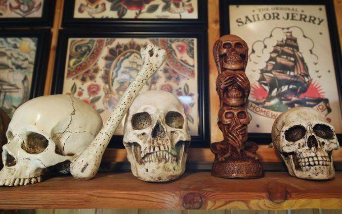 Tattoo Studio Skull Island in Hamburg