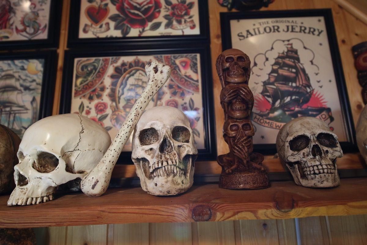 Skull Island Tattoo – Das Studio