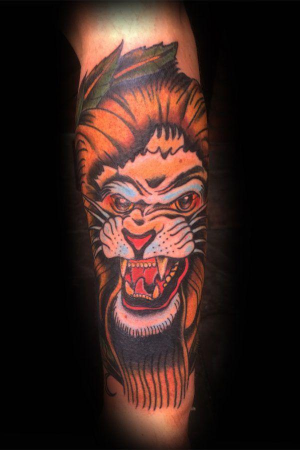 neo-trad-lion