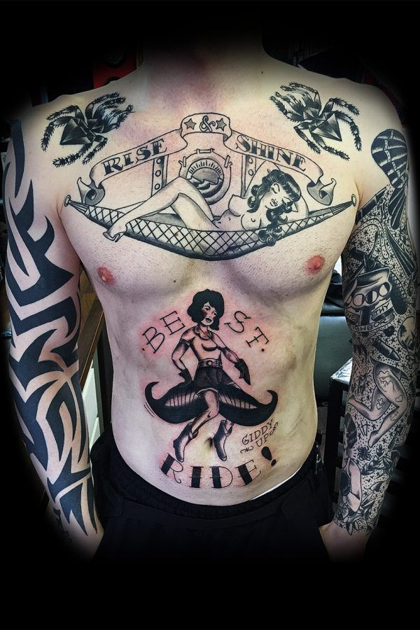 old school – all tattoos by Tor Abyss