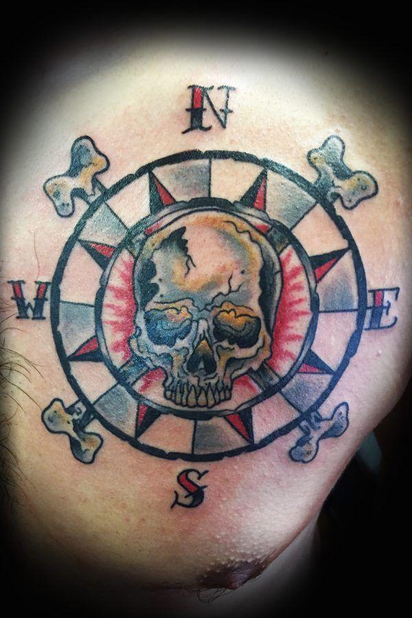 skull compass